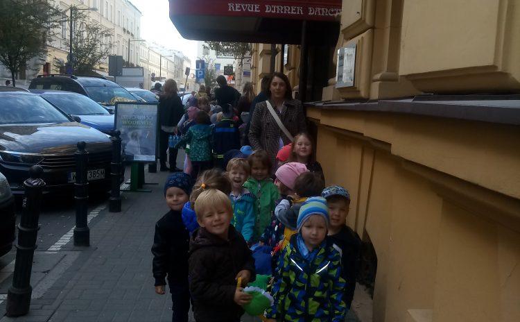 "Wycieczka do Teatru Sabat na musical pt. ""Alladyn"""
