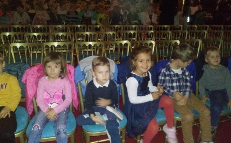"""Wycieczka do Teatru Sabat na musical pt""""Pinokio"""" 29.10.2019"""