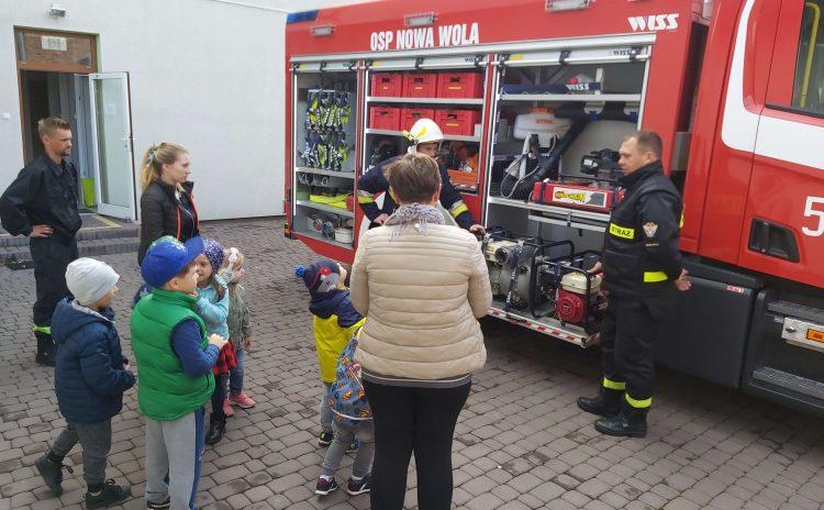 Poznajemy pracę strażaka dzięki OSP Nowa Wola